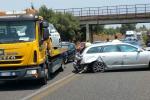 Maxi tamponamento in autostrada, fila di oltre 5 chilometri a Catania - Foto