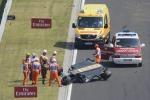 Formula 1, Perez si capovolge con l'auto: nessuna conseguenza - Foto