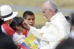 """Il viaggio di Papa Francesco in Ecuador: """"Il paradiso è ecuadoregno"""" - Foto"""