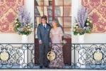 Abito rosa tenue e ricami: Valentino veste Beatrice Borromeo per le nozze con Casiraghi