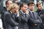 Christian Argurio tra i dirigenti della Juventus