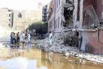 Autobomba sul consolato italiano al Cairo: tutte le foto