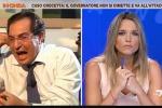 Intercettazione Tutino, scontro in diretta tv fra Crocetta e la giornalista Barra - Video