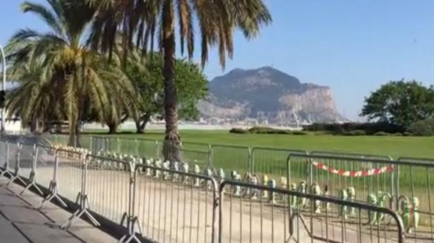 cane, jogging, pitbull, Palermo, Cronaca