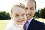 Il piccolo George compie due anni: ecco la nuova foto ufficiale in braccio a papà William