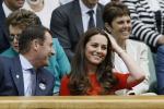 Vestito rosso e sorrisi, Kate protagonista sugli spalti di Wimbledon