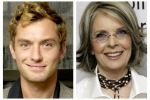 """Jude Law e Diane Keaton sul set per """"Il giovane Papa""""di Sorrentino"""