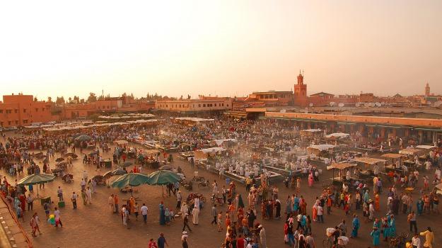 Marocco, ora legale, Sicilia, Mondo
