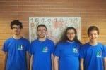 Da sinistra Filippo Baroni, Francesco Milizia, Dario Ostuni e Marco Donadoni