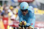 Tour de France, Dennis prima maglia gialla ma Nibali è il migliore tra i big