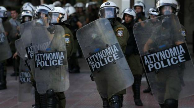 Grecia, scontri parlamento, Sicilia, Archivio