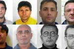 Estorsione ed associazione mafiosa nel catanese - Nomi e foto degli 8 arrestati
