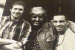 Jovanotti e Ramazzotti insieme sul palco per ricordare Pino Daniele