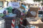 Enna invasa dai rifiuti, anche i topi per strada