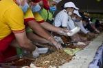 In Messico 65 metri di... bontà: ecco il sandwich più lungo del mondo