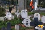 Rotoli di Palermo, disponibili da settembre 800 sepolture