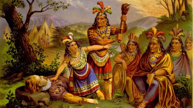 pocahontas, tribù, Sicilia, Società