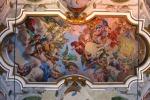 Piazza, arrivano 70 mila euro per i restauri: affreschi del Borremans salvi