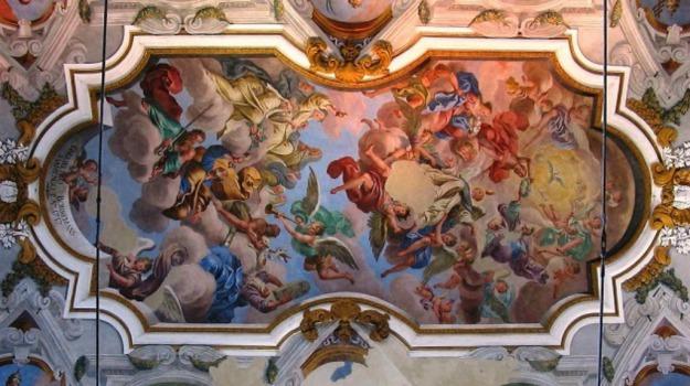 affreschi, Piazza Armerina, Enna, Cultura