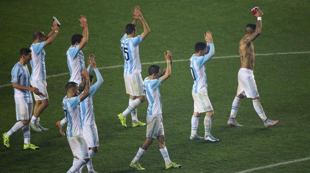 argentina, Calcio, coppa america, Paraguay, Sicilia, Sport