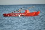 Bagnino di Augusta soccorre due naufraghi