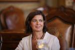 """Pozzallo, la visita della Boldrini: """"Città che onora l'Europa"""""""