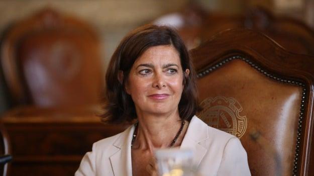 busto falcone zen, Laura Boldrini, Palermo, Politica