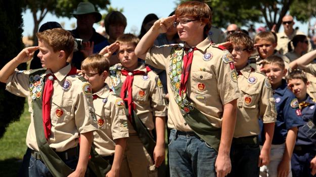 boy scout, divieto, gay, USA, Sicilia, Mondo