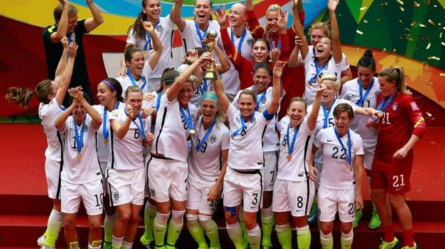 Calcio femminile, giappone, mondiali, USA, Sicilia, Sport