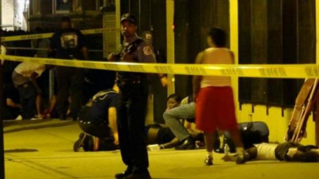 chicago, feriti, sparatorie, USA, vittime, Sicilia, Mondo