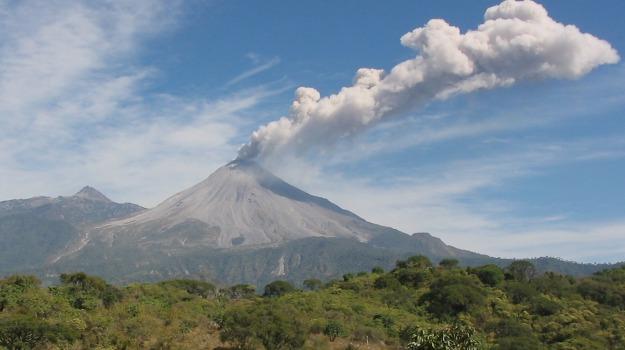 messico, vulcano, Sicilia, Mondo