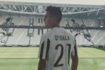 """Dybala si presenta alla Juve: """"Voglio vincere e questa squadra è perfetta"""""""
