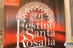 La presentazione del Festino di Santa Rosalia in Curia a Palermo
