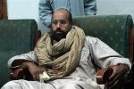 Libia, condannato a morte il figlio di Gheddafi