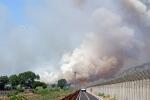 Fiumicino, voli nel caos per un incendio Stop di tre ore, disagi anche in Sicilia