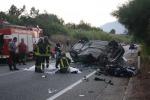 Tre morti sulla Palermo-Sciacca, ecco le immagini subito dopo l'incidente - Foto
