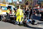 Si schianta con la moto, grave diciassettenne a Palermo