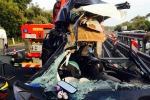 Tir contro auto, morti due gemellini di 9 mesi