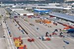 Inaugurato l'interporto nella zona industriale di Catania