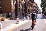 Cassaro chiuso al traffico: corsia per mezzi pubblici e di soccorso e per i residente - Video