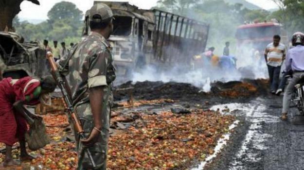 india, maoisti, poliziotti, uccisi, Sicilia, Mondo