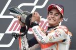 Motogp: è dominio Marquez, Rossi terzo e ancora leader del mondiale