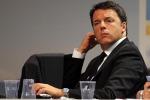"""Pompei e Alitalia, Renzi: """"In tanti vogliono il fallimento, noi no"""""""