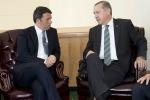 "Telefonata tra Renzi ed Erdogan: ""Lotta comune al terrorismo"""