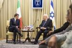 """Renzi in Israele: """"La cultura è la risposta al terrorismo"""""""