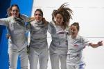 Mondiali, per l'Italia è un fioretto d'oro: trionfano gli uomini e le donne