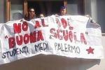 """Proteste degli Studenti Medi all'assessorato alla scuola: """"No al ddl Buona Scuola"""""""
