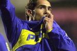 Primo gol di Tevez con la maglia del Boca Juniors