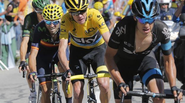 ciclismo, tour de france, Chris Froome, Sicilia, Sport