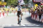 """Tour de France, Vuillermoz doma il """"muro"""" Nibali in difficoltà perde 10"""" dai migliori"""
